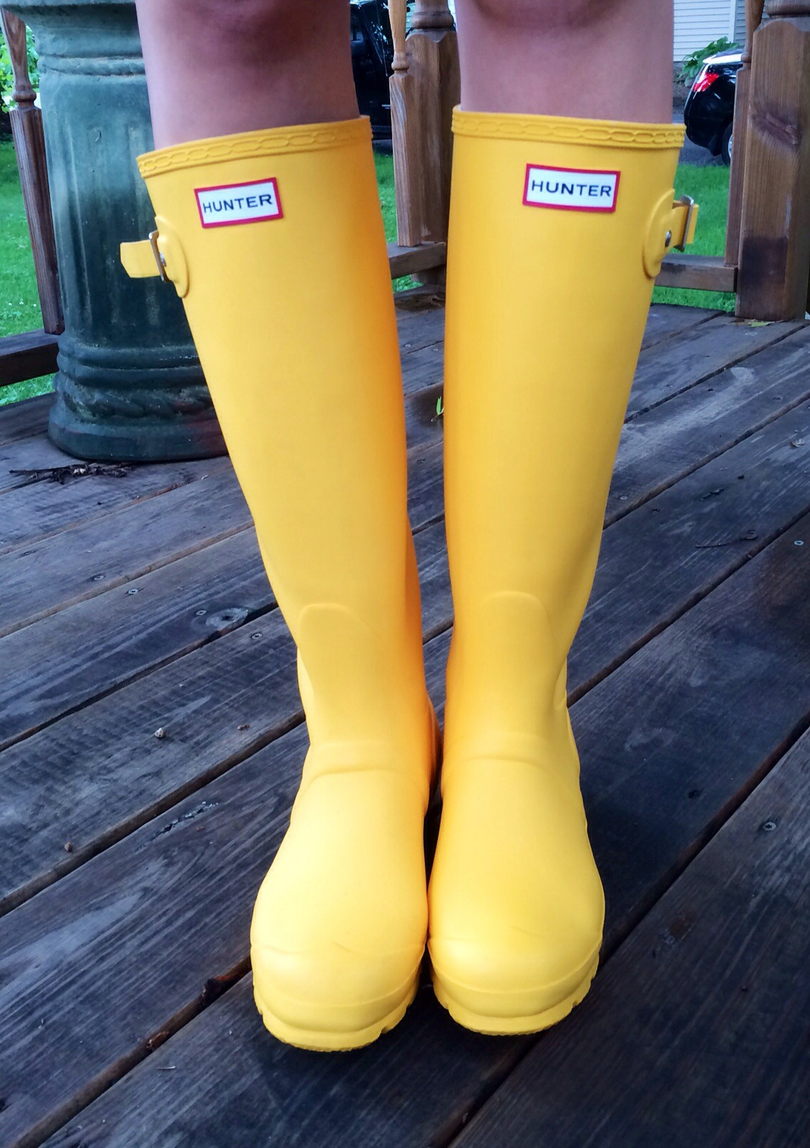 Yellow Hunter Boots Heaven In A Handbag